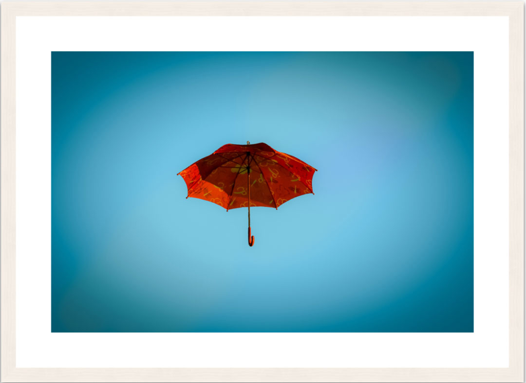 Regenschirm Fine Art Wandbilder